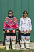 Greenland national costume — Stock Photo
