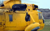 RAF Search and Rescue Helicopter — Stockfoto