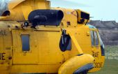 RAF Search and Rescue Helicopter — Стоковое фото