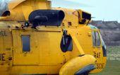 RAF Search and Rescue Helicopter — Fotografia Stock
