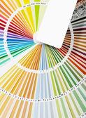 Color palette guide — Stock Photo