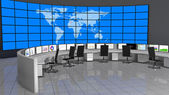 Network - Security Operations Center (NOC - SOC) — Stock Photo