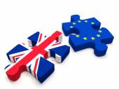 EU - UK Brexit — Stock Photo