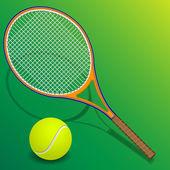 Tennis racket — Stock Vector