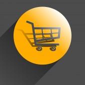 Shopping cart. — Stock Vector