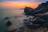 """Ao nang"" sunset view point Krabi Thailand — Stock Photo"