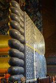 Reclining Buddha Wat Pho — Foto Stock