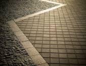 Stone street road pavement texture — Foto de Stock