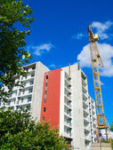 View of the construction of a new house — Stockfoto