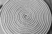 Rope Coil — Stock Photo