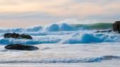 Onde dell'Oceano Atlantico — Foto Stock