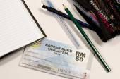 1Malaysia Book Voucher or Baucar Buku 1Malaysia (BB1M) — Stock Photo