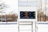 Sports scoreboard — ストック写真