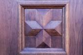 Dřevěné dveře — Stock fotografie