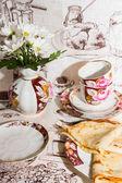 Pancakes for Breakfast — Stock Photo