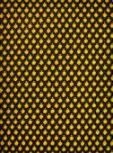 Black knitted fabric background — Stock Photo