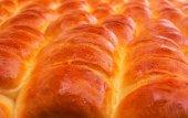 Fresh baked goods - muffins ruddy appetizing — Stock Photo