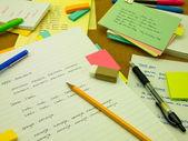 Study Language, Spanish — Zdjęcie stockowe