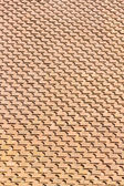 Tile roof pattern — Stock Photo