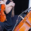 Постер, плакат: Cello orchestra musical instruments