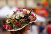 Floral hat — Stock Photo