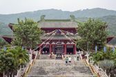 Chinese Temple. Sanya, Hainan, China — Stock Photo