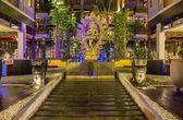 Golden Buddha. Bali, Kuta, Indonesia, Mercure — Stock Photo
