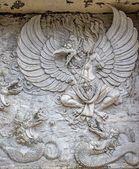 Garuda. Bali, Indonezja, Gwk Park — Zdjęcie stockowe