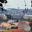 Panorama of the Czech town — Stock Photo #69125365