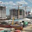 Construction site in Astana. — Stock Video #74864187
