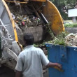 Garbage collection in Chennai, India — Stock Video #75036177