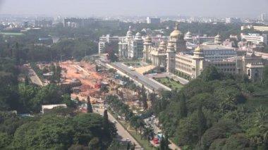Seat of the state legislature in Bangalore — Stock Video