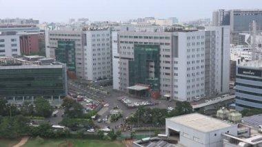 国际展贸中心城市海德拉巴的概述 — 图库视频影像