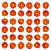Background tomato in milk  — Photo