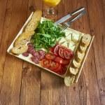 Mediterranean breakfast set — Stock Photo #71208521