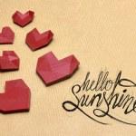 Hello lovelly sunshine! — Stock Photo #73412507