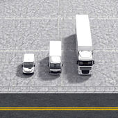 Business logistic transportation service illustration — Stock Photo
