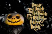 Halloween pumpkin quotes — Stock Photo