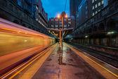 The tube at night — Stock Photo