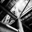 Westminster tube industrial — Stock Photo #69467043