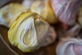 Colourful meringue — Stock Photo