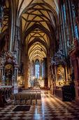 Interior of Stephansdom, Vienna — 图库照片