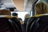 On the bus — Stock fotografie