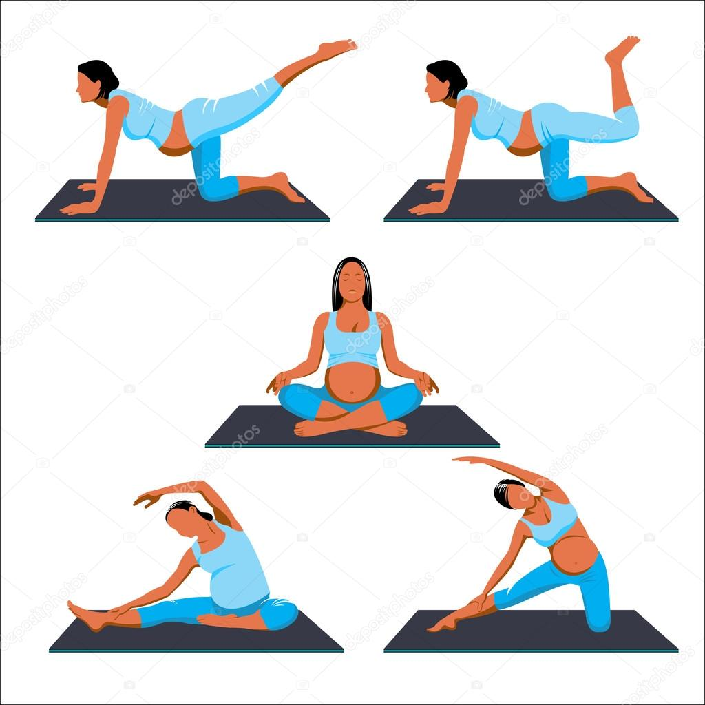 Йога для беременных дома: асаны - Woman s Day 45