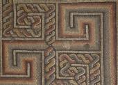 古代モザイクの床 — ストック写真