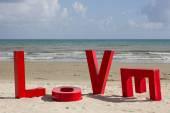 Letters of love. — Zdjęcie stockowe
