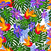 Tropical pattern — Stock Photo