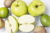 Mixed green fruit — Stock Photo