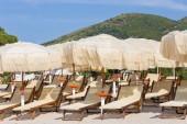 Rilassatevi sulla spiaggia dell'isola — Foto Stock