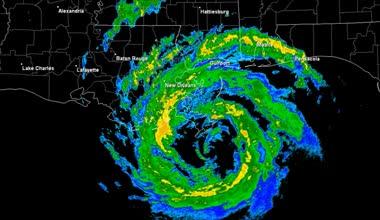Hurricane Isaac (2012) Landfall Time Lapse — Stock Video